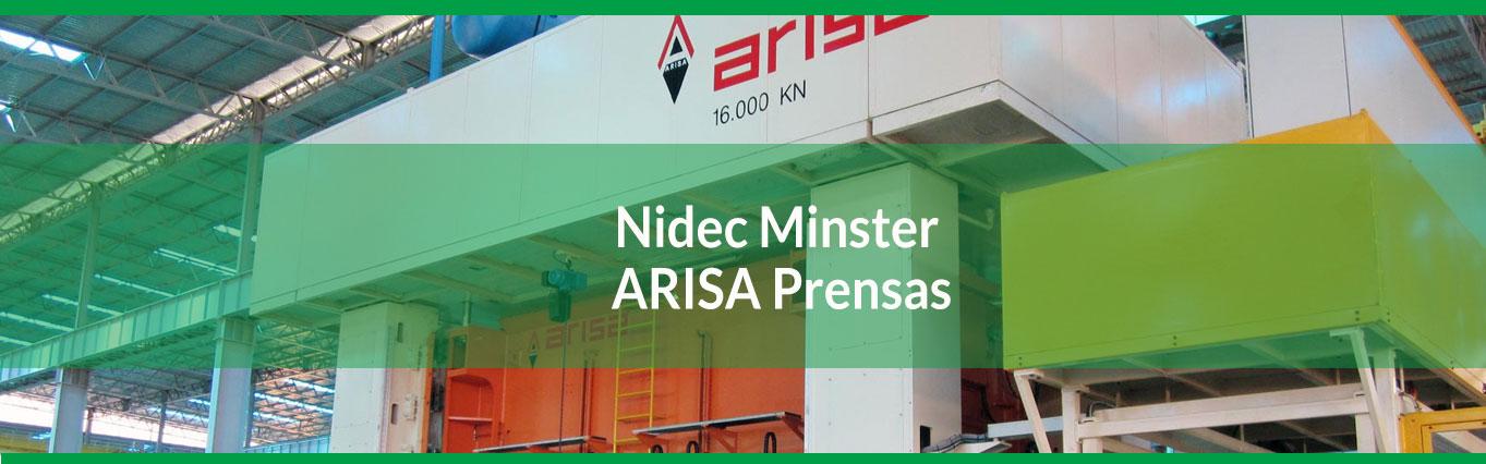 Nidec Minster ARISA Prensas
